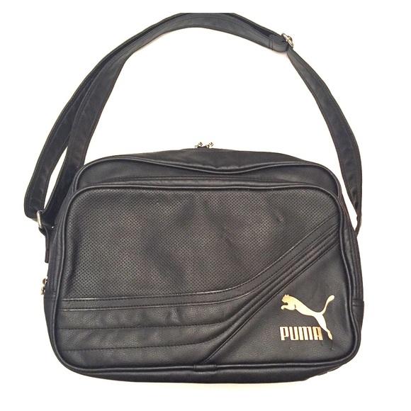 b0c489206f8 Puma Bags   Blackgold Messenger Bag   Poshmark